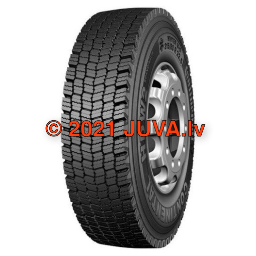 HSW 2 Scandinavia, continental, tires