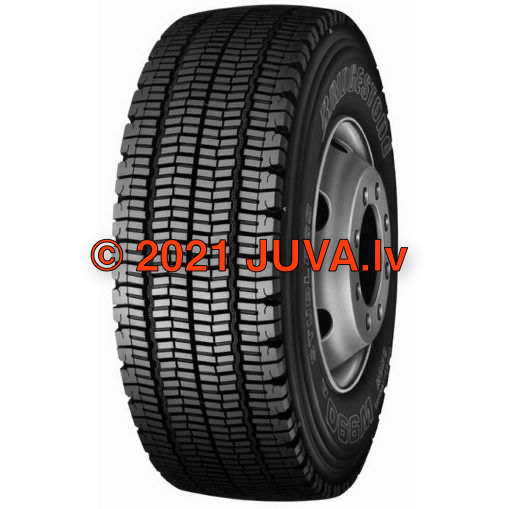 Bridgestone W 990 295/80 R22.5 152/148M - rengas